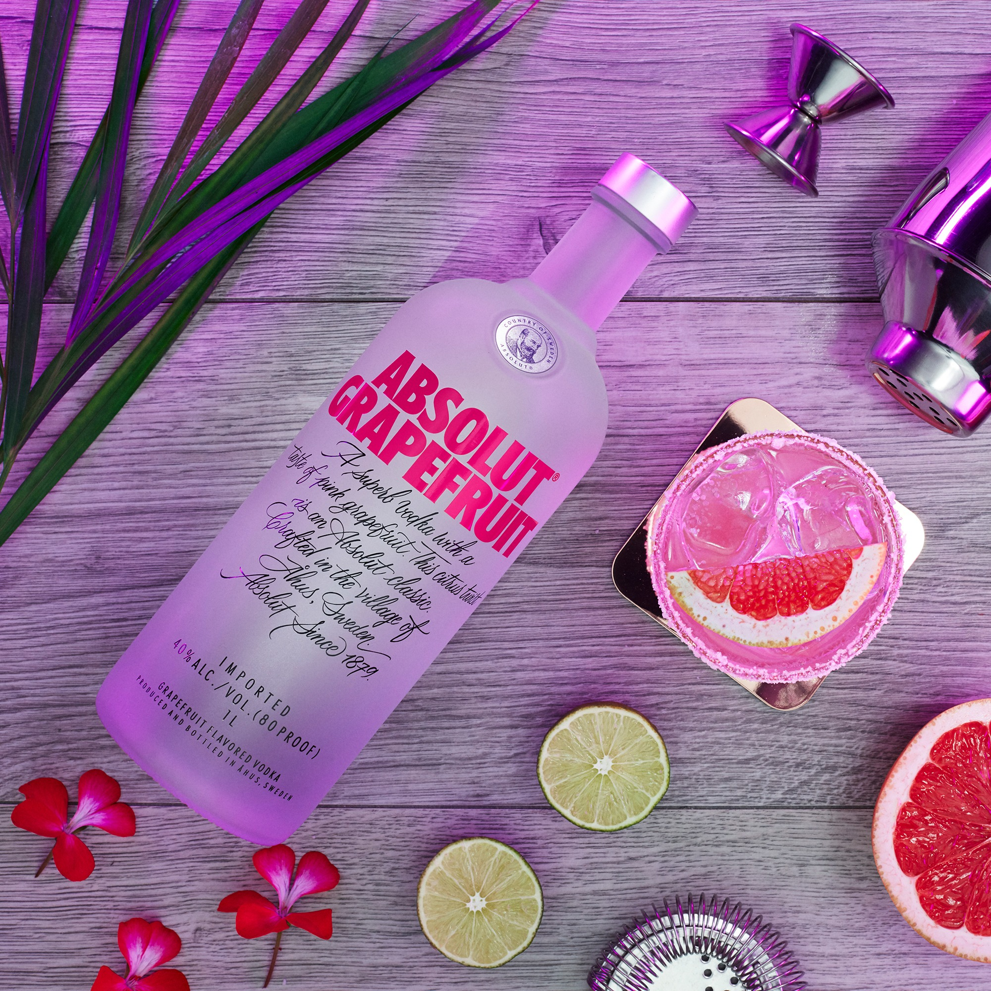 Absolut Grapefruit Competition NOW LIVE!